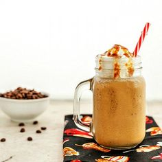 Vanilla Caramel Frappuccino Low Carb is a super yummy, frosty, flavored coffee treat beverage! Paleo and low carb versions.