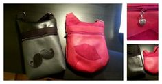 Duo de sacs Be-Bop spécial St Valentin cousus par By Chalie Fashion