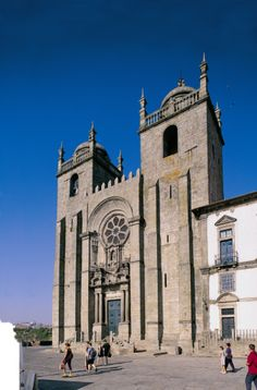 Sé / Cathedral Porto, Portugal - my brother-in-law was baptized here!