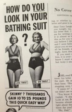 In a magazine from the 1950s.