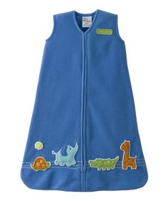 Look what I found on #zulily! Halo Blue Animal HALO SleepSack by Halo #zulilyfinds