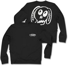 5SOS White Dog Black Sweatshirt ❤ liked on Polyvore featuring 5sos, sweatshirt and tops