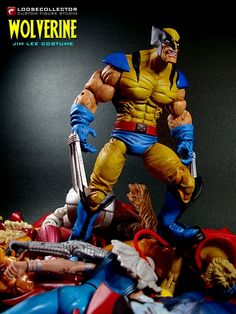 Loosecollector Custom Action Figures: Wolverine (Tiger Stripe) : Olivetti style