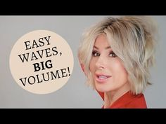 Easy Loose Waves Big Volume Tutorial | Dominique Sachse - YouTube