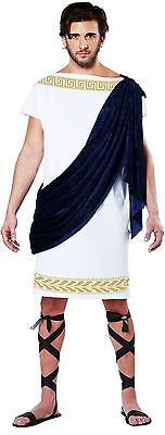 Sash Decor Grecian Toga Tunic Robe Egyptian Greek Roman Costume Adult Men