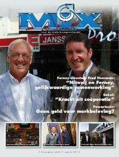 'Kluswebsites: kansen voor handel?' | Interview with Sophie for MIXPro, B2B magazine for construction professionals | March 2011