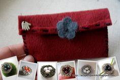 A Cup Of Sparkle: Handmade Felt Jewelry Bag Tutorial