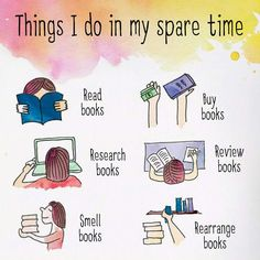 It's all about books.