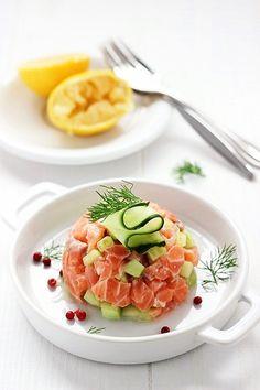 Salmon's Tartare, food photography