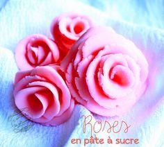 Rose en pâte à sucre ou pâte d'amande (sans matériel) : Il était une fois la pâtisserie