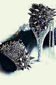8ca0b74f831a8 oh my. they double as a weapon  ) heel boots  sexy shoes  platform heels   heels platform  heels with platform  silver heels  kitten heels  pink heels   ...