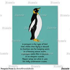 Penguin Poem Poster