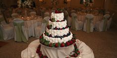 wedding cakes decorated with fresh fruit - Google Search