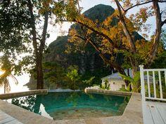 Jalousie Plantation Resort, Saint Lucia.