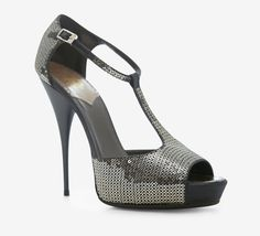 Roberto Cavalli Grey And Silver Sandal