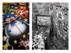 Mobili d'arte e tessuti d'arredo di Simone Lucchesi per Castéstyle in mostra a Casté (SP) per visite scrivere a castestyle@gmail.com. Fotografie di Gianluca Ghinolfi