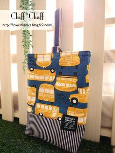 【入園入学準備】上靴入れ☆黄色いバス 2x School Readiness, Mini Bags, Hermes Birkin, Clutch Bag, The Creator, Projects To Try, Pouch, Kids, Crafts