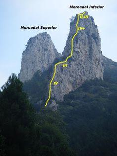 Cresta mercadal,Berga