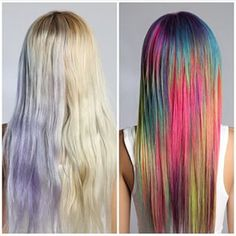 "But look how pretty! | WTF Is ""Sand Art Hair"" And Why You'll Want It"