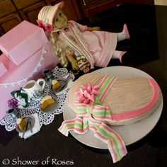 I pinned this site from:  Shower of Roses: Happy Birthday, Caroline! :: An American Girl Party.  SO CUTE!! HOWEVER... I think this would be a fun Girl's Night Out party idea!!  I LOVE the 1800's & think it would be fun to hold a party similar to this one at my house.    I love the book suggestions in this party too.