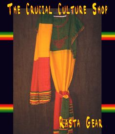 *      * See this listing in:      *    Three Piece Ethiopian Bunna dress with headwrap and belt Ethiopian Rastafari