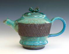 Handmade Stoneware Teapot. $95.00, via Etsy.