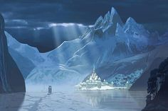 Frozen Disneys | First Look at The Kingdom of Arendelle from Disney's Frozen