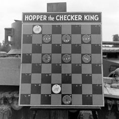"""""""Checkers And Soldiers"""" 