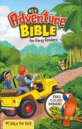 NirV Adventure Bible for Early Readers, Hardcover, Jacketed. A way to introduce Jesus to your children, as a servant of Christ.#affiliatelink