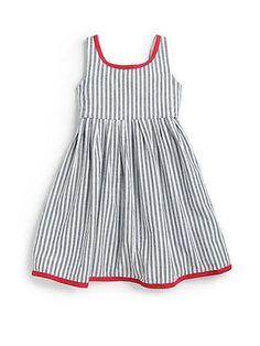 Ralph Lauren Kleinkind - ärmelloses Kleid aus Baumwolle mit Vintage-inspirierten ... #armelloses #baumwolle #kleid #kleinkind #lauren #ralph #vintage,