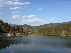 3月2日(高知旅1日目) 夕方 - 鏡ダム