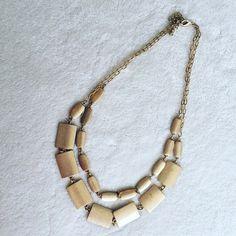 NWOT sleek necklace, double stranded Double stranded sleek necklace. New without tags. Jewelry Necklaces