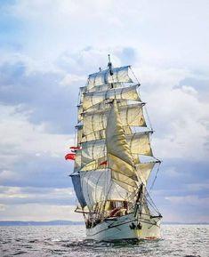 Tall Ship Astrid. Sadly she sank in july 2013, at the coast of Ireland
