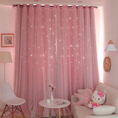 Room Design Bedroom, Room Ideas Bedroom, Living Room Bedroom, Pastel Living Room, Living Room Decor Curtains, Pastel Bedroom, Curtains For Girls Room, Girly Bedroom Decor, Pink Bedrooms