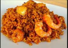 Cocina Sin Problemas: Arroz a banda. Polenta, Food Obsession, Food Decoration, Spanish Food, Rice Dishes, Smoothie Recipes, Food To Make, Food And Drink, Yummy Food