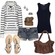 comfy summer night outfit