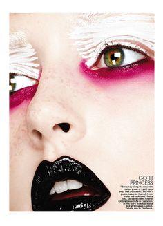 Artistic Makeup by Ben Hassett
