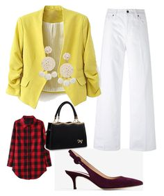 """""""Business casual"""" by oespinal on Polyvore featuring moda, Gianvito Rossi, Vince y Humble Chic"""