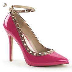 Pleaser Women's Amuse 28 Pink Fashion Pumps 5 M - Pleaser pumps for women (*Amazon Partner-Link)