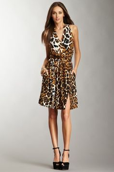 Robert Rodriguez Leopard Jersey Dress by M Missoni  -Crazy about animal prints