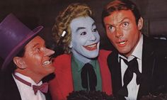 Burgess Meredith, Cesar Romero a Adam West