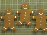 Gingerbread Cookies - double all spices but salt, roll into balls and press with fork, bake a day ahead for spices to set in