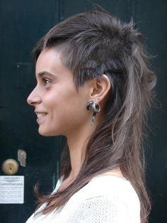 girl mullet - Google Search