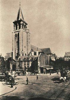 Place Saint Germain des Prés.