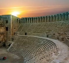 Aspendos Antike Theater Antalya