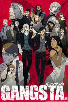 L'anime Gangsta. en simulcast sur Crunchyroll !, 24 Juin 2015 - Manga news