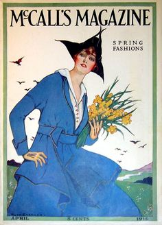 McCall's Magazine April 1916 by Ruth Eastman