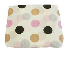 Baby Love Polka Dot Crib Sheet