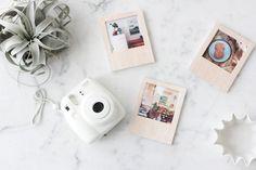 DIY – Des Polaroids Aimantés en Bois