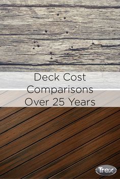 1000 Images About Trex Decking Vs Wood Decking On
